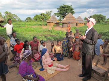 Empowering people with albinism at the grass-roots