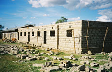 Picture of Mitaboni Primary School under construction